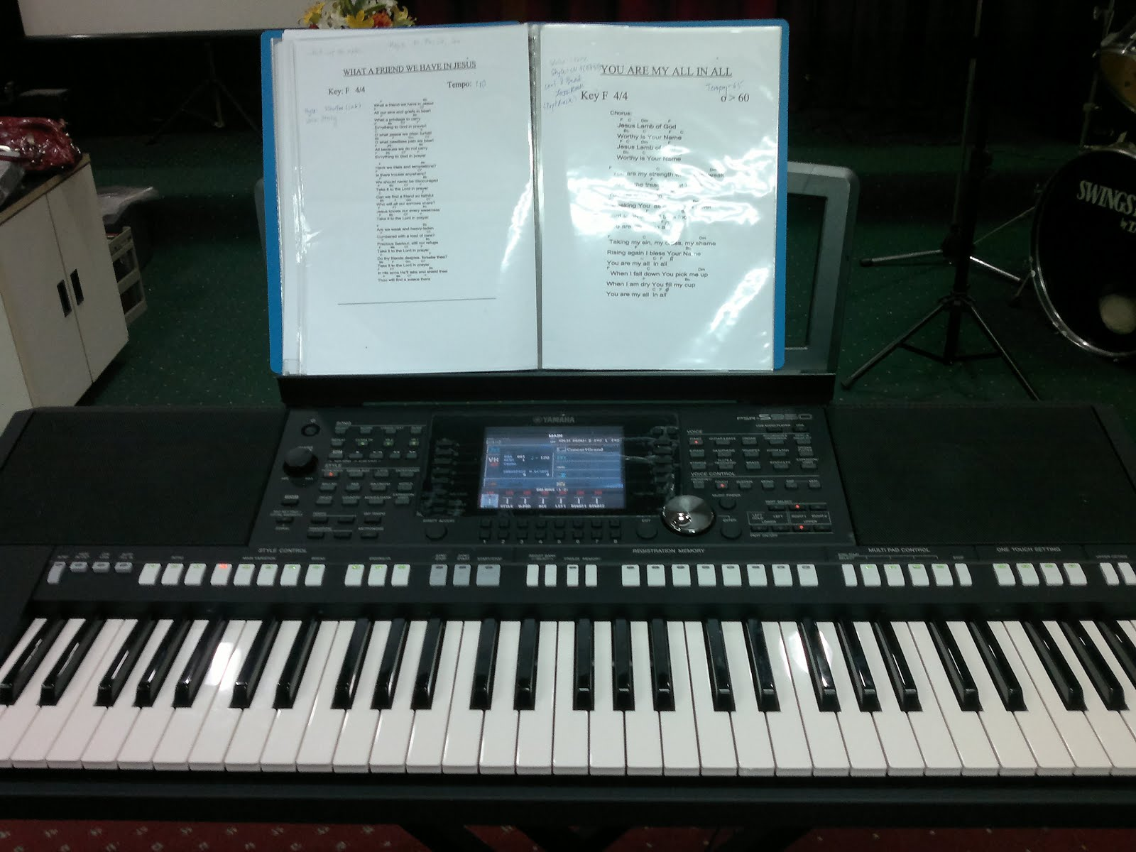 Yamaha PSR S950 keyboard / CYB | Chea-Yee's Blog