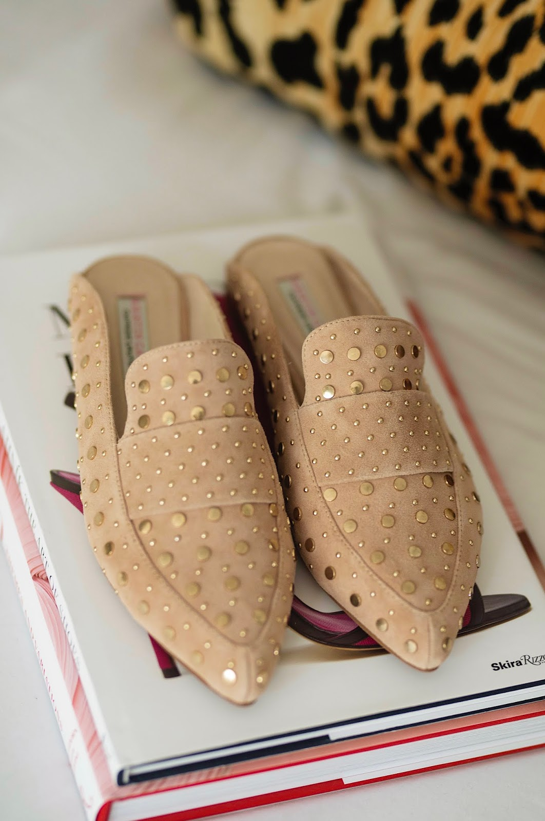 Nordstrom Anniversary Sale Kristin Cavallari Charlie Studded Loafer Mule - Something Delightful Blog