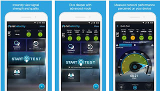 NetVelocity Mobile Internet speed Checker Apps