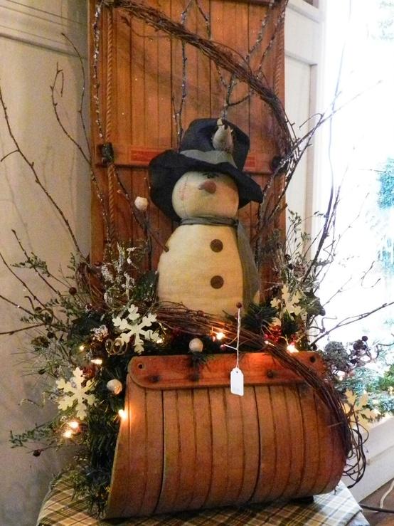 El ba l de la mona ideas para decoraci n navide a - Decoracion con baules ...