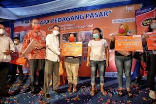 Dinilai Sangat Membantu Pelaku Usaha, Pjs Wali Kota Medan Program Pinjaman KUR Super Mikro dan Digitalisasi Pasar