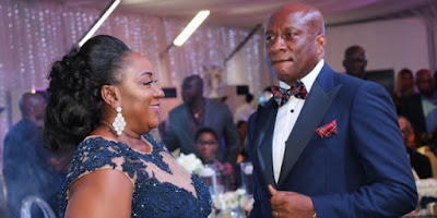 See Faces @ the Superlative Wedding Anniversary of Air Peace boss