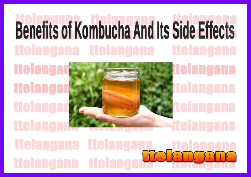 Benefits of Kombucha And Its Side Effects