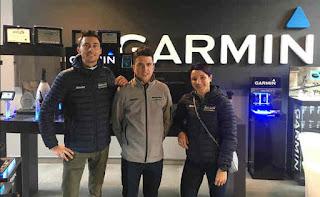 Il Team Bianchi nel quartier generale di Garmin Italia
