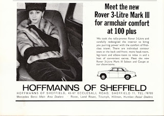 Hoffmans of Sheffield advert from the Sheffield Spectator from Nov1966