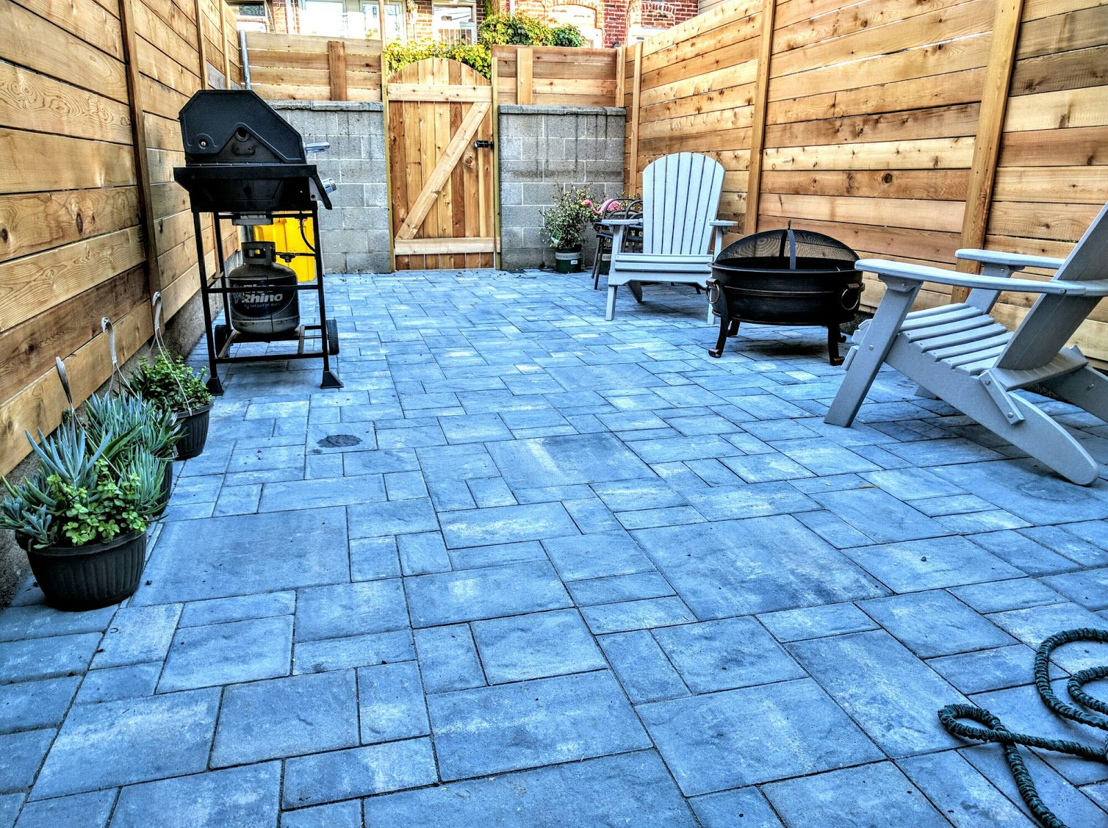 Landscape Design With Pool And Pavers
