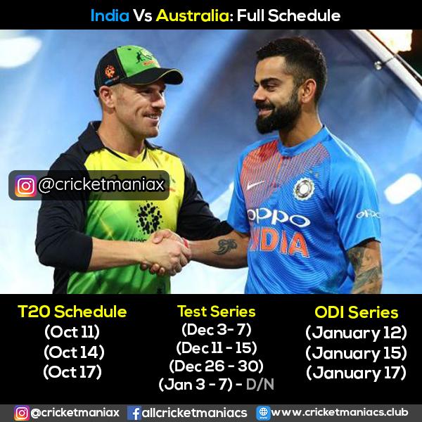 india vs australia 2020 21