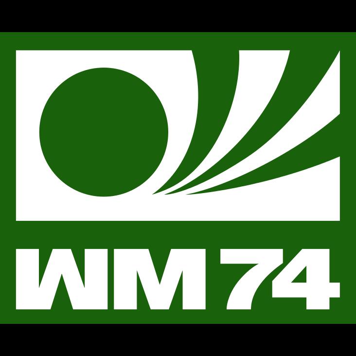 Logo Piala Dunia FIFA Tahun 1974 Jerman Barat