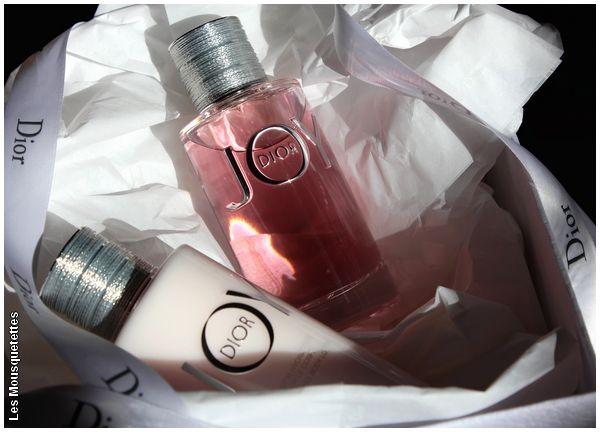 Joy, l'eau de parfum et l'émulsion corps by Dior