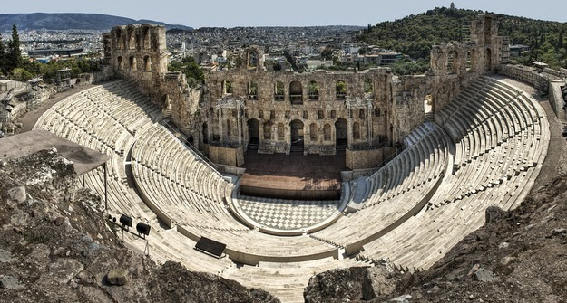 47. Theater was born here. (Odeon of Herodes Atticus in Athens.) - 49 Reasons To Love Hellas (Greece)