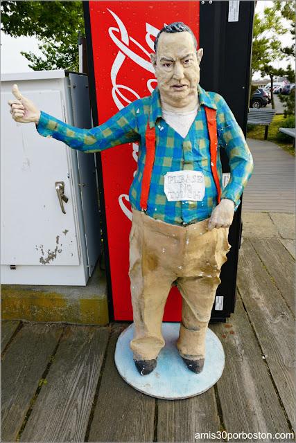 Escultura en Provincetown, Cape Cod