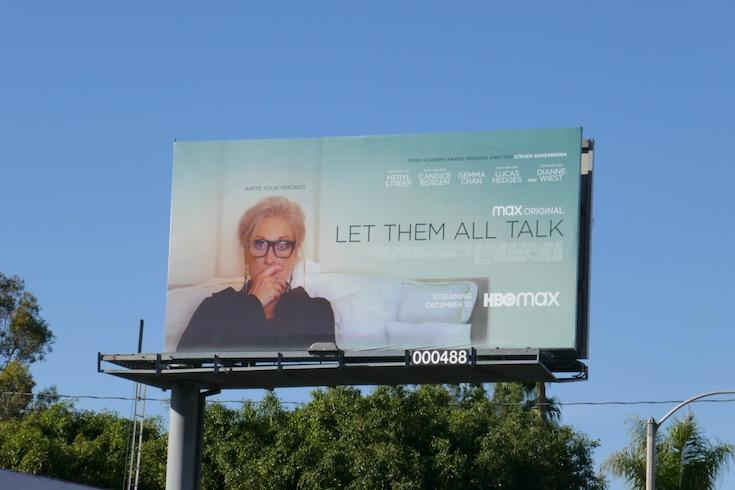 Let Them All Talk film billboard