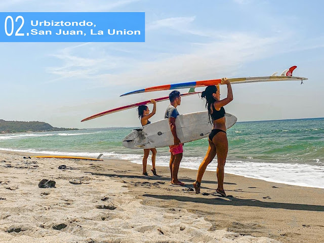 Urbiztondo, San Juan. La Union Surfing Capital of the North