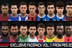 Exclusive Facepack Vol. 11 - PES 2019