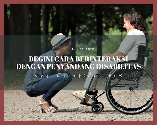 Cara Berinteraksi Disabilitas