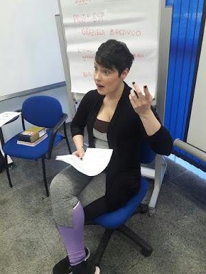 Oficina de Teatro com a atriz Graziela Barduco em Registro-SP