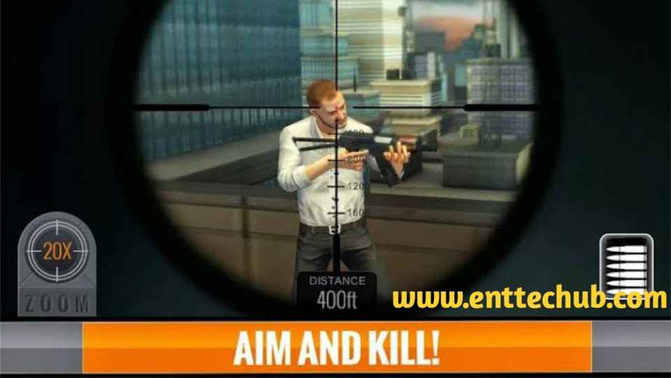 Features of Sniper 3D Mod Apk