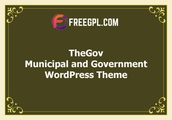 TheGov - Municipal and Government WordPress Theme Free Download
