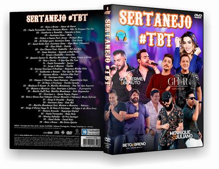 SERTANEJO TBT DVD-R