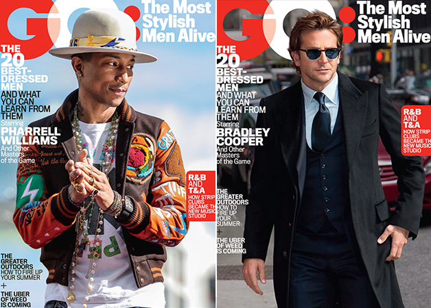 The Most Stylish Men Alive cover GQ US July 2015