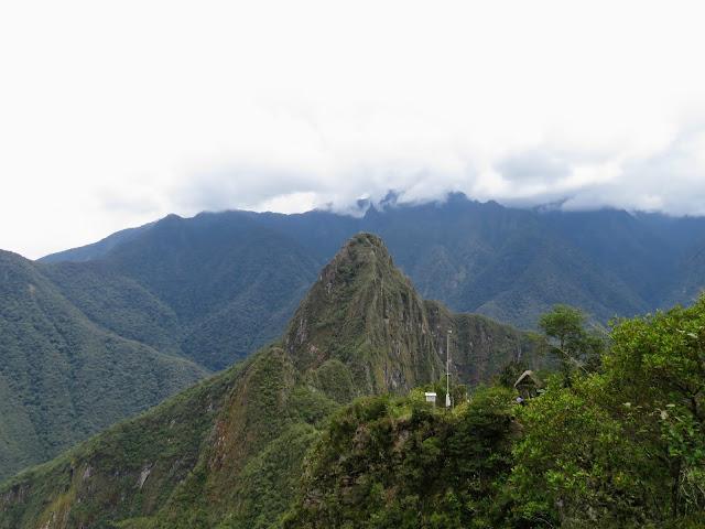 Pics of Machu Picchu Peru: Clouds over Machu Picchu