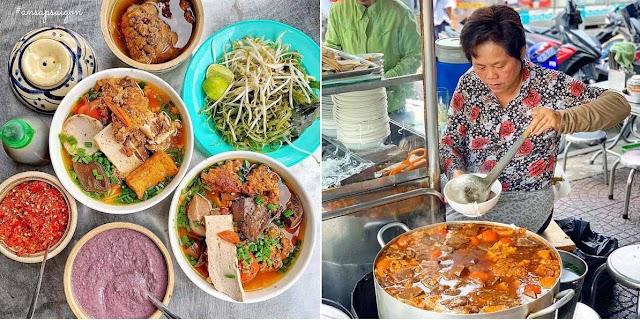 Những quán ăn bún riêu ngon ở Sài Gòn