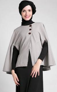 Baju hamil muslim trendy untuk lebaran