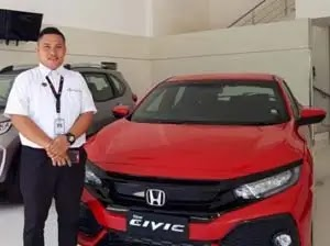 marketing honda mobil pekanbaru