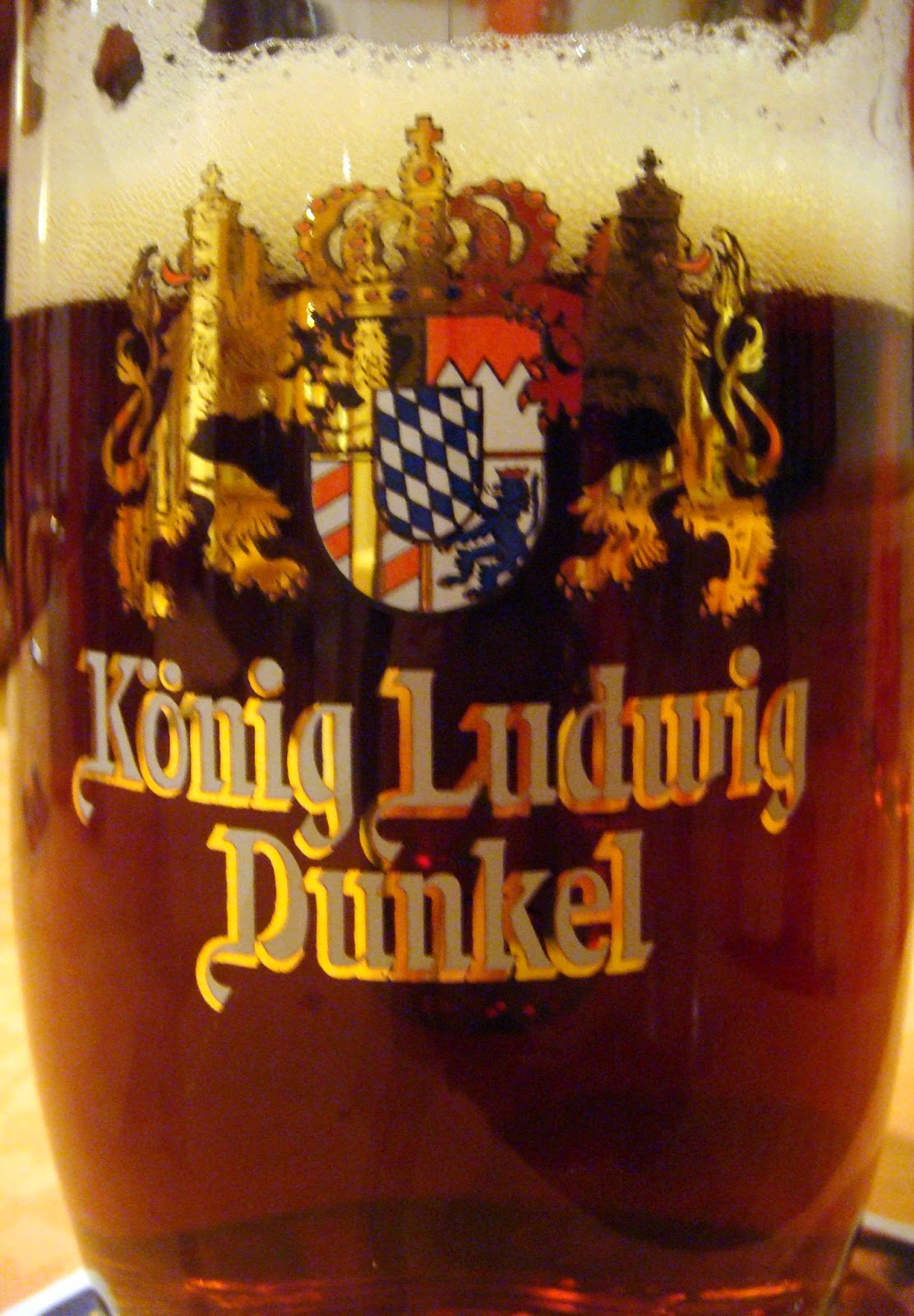 Konig Ludwig Dunkle beer - The Tipsy Terrier blog