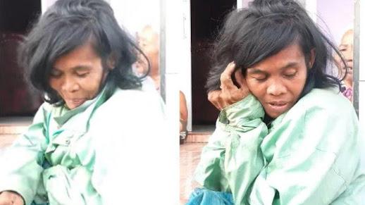 Subhanallah! Meski Dianggap Gila, Wanita Ini Punya Suara Merdu saat Baca Al Quran, Netizen : Jadi Merinding