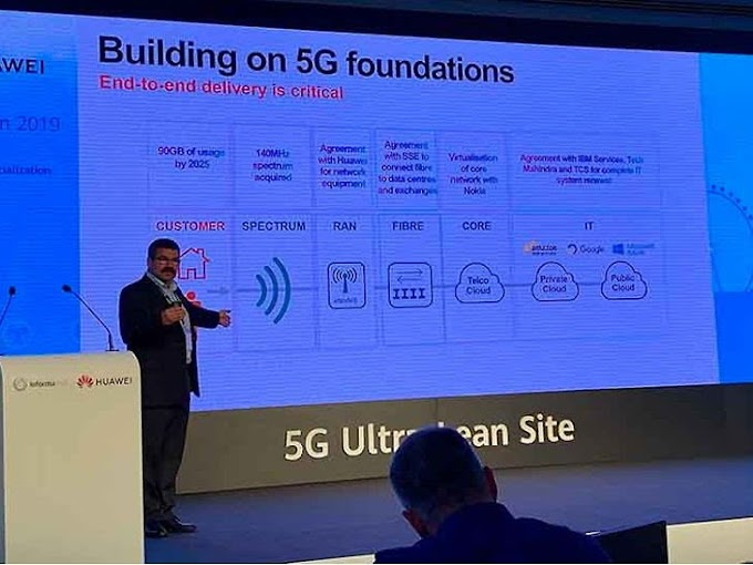 3 UK companies Together with Huawei, will work on the 5G mobile network.