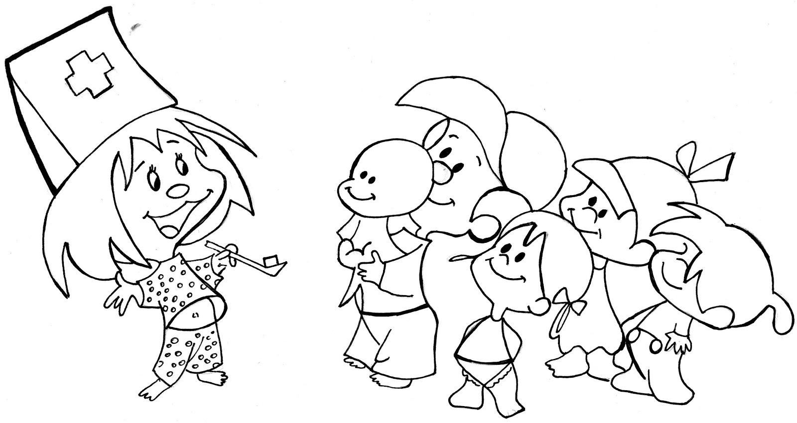 Dibujos Infantiles Para Colorear Sobre La Familia: Imagenes Para Colorear Familia