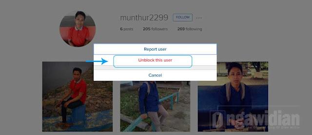 Cara Mudah Unblock Teman Di Instagram Android