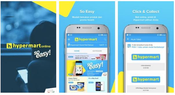 Mau Belanja Online Hypermart Dengan Ongkos Kirim Gratis ? Download Aplikasinya
