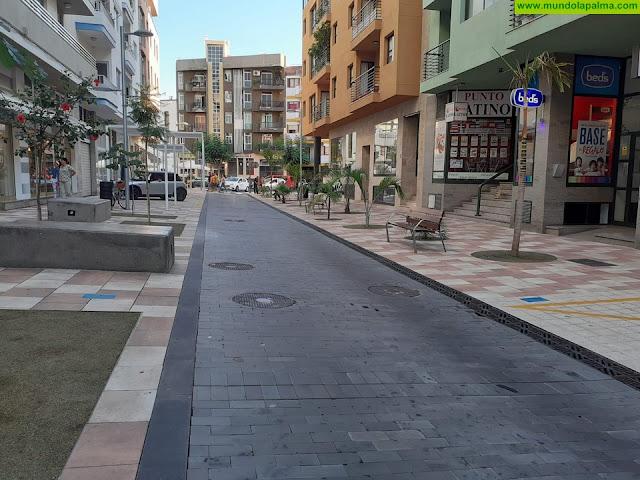 El lunes empiezan las obras de reparación del adoquinado de la Avenida Venezuela de Los Llanos de Aridane