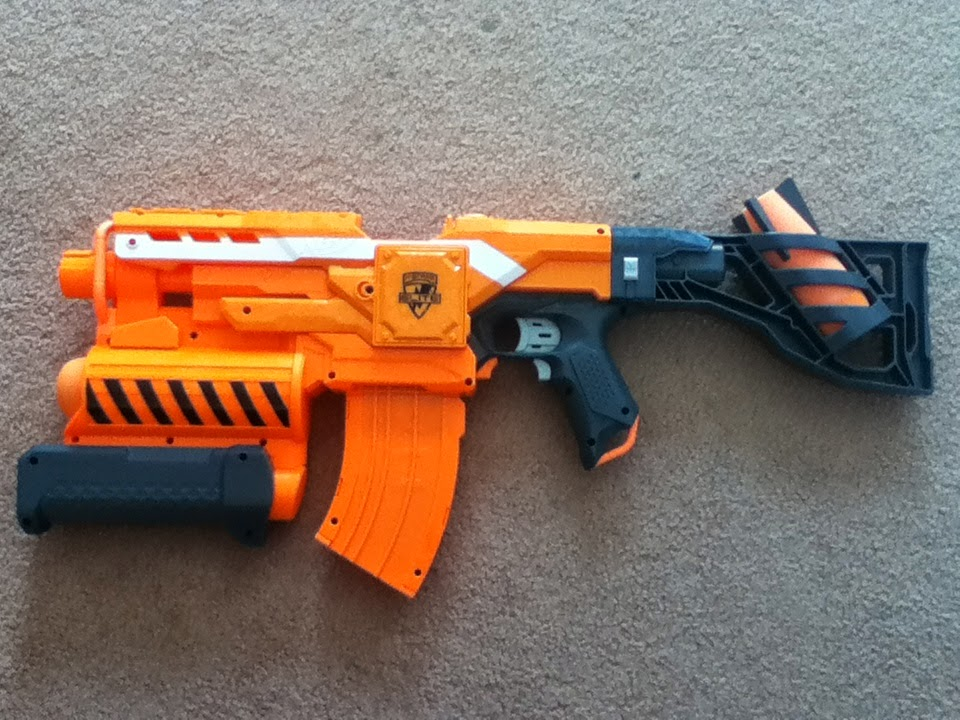 Outback Nerf: Review: Nerf Elite XD Demolisher 2 in 1 (22m ...