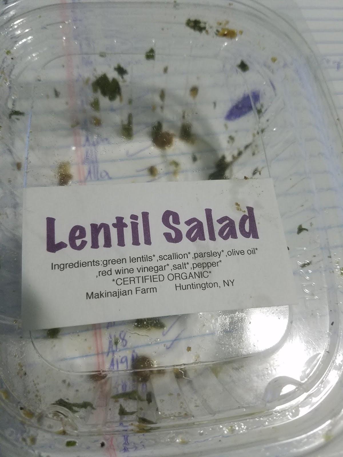 slices of my mind: organic   salt?