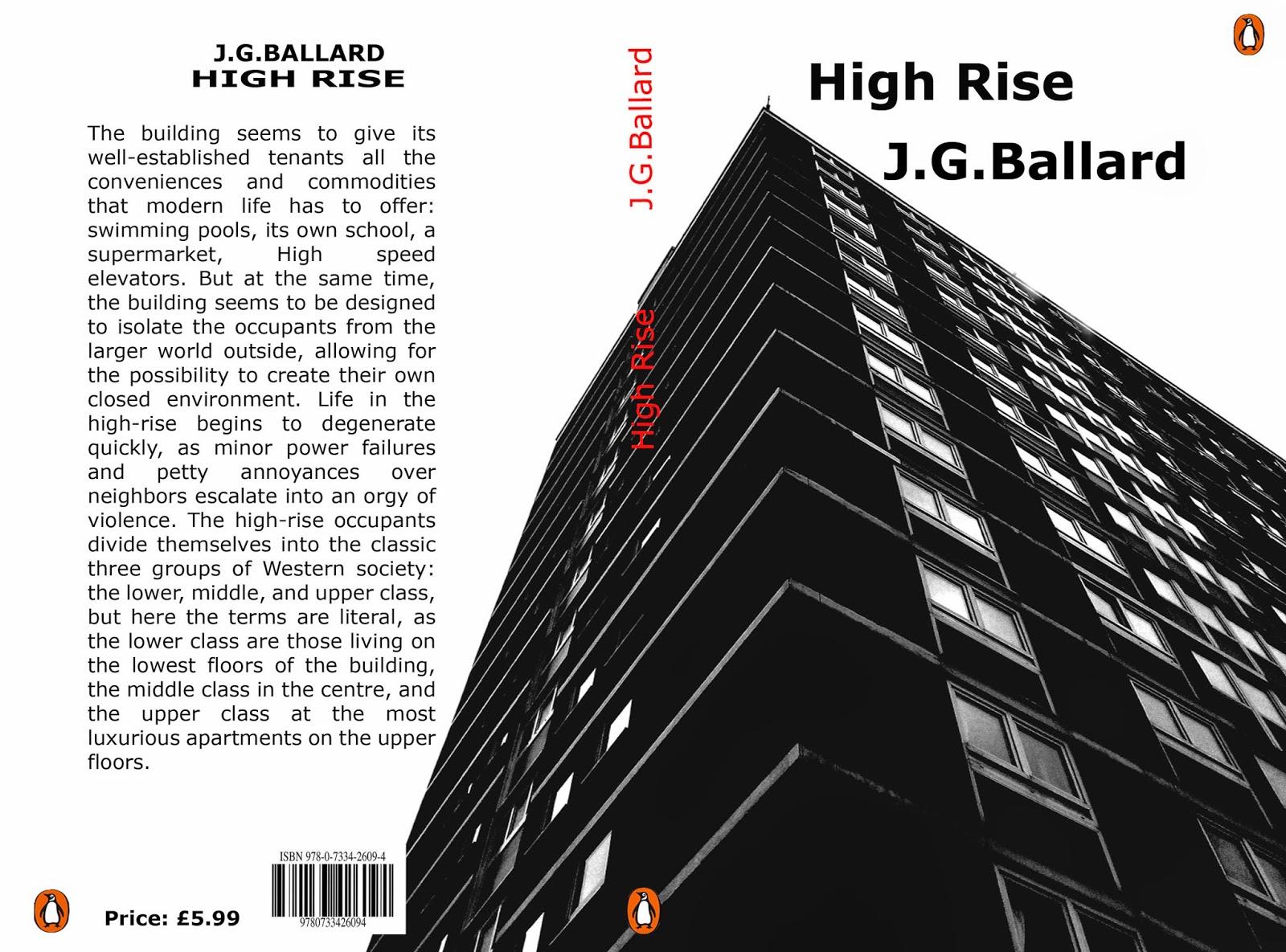 #LibrosRecomendados : High Rise de JG Ballard