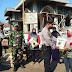 TNI-Polri Gelar Baksos Pembagian Sembako Kepada Warga Terdampak Covid-19