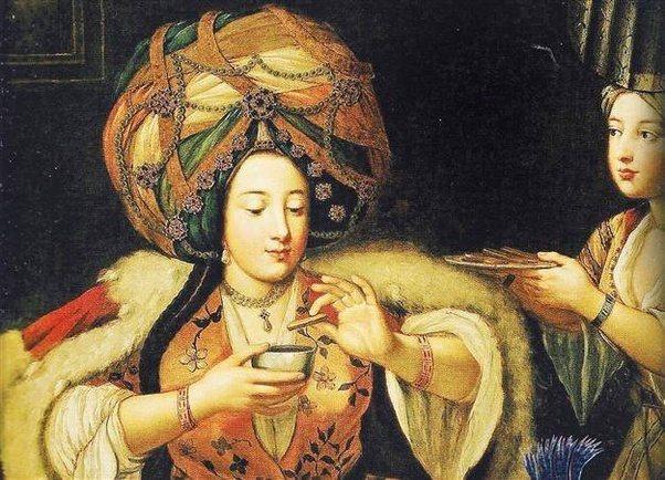 sultans favourite enjoying cofee