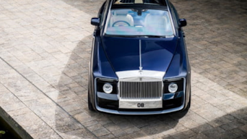 Rolls' one-off Sweptail was built for one discerning (and wealthy) customer