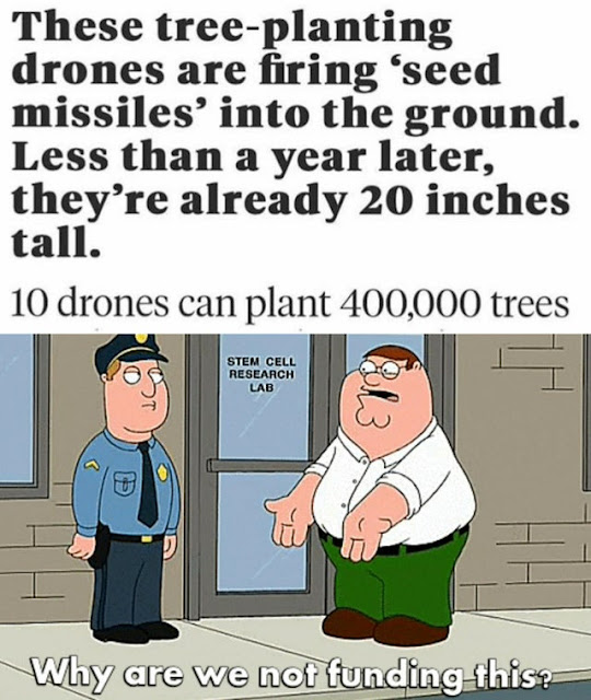 This could help you with the planting, Mr. Beast