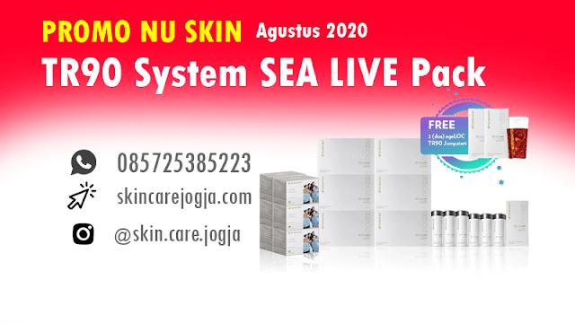 Promo Nu Skin TR90 System SEA LIVE Pack Agustus 2020