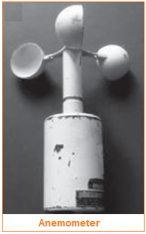 Anemometer - alat pengukur angin - pengukur kecepatan angin