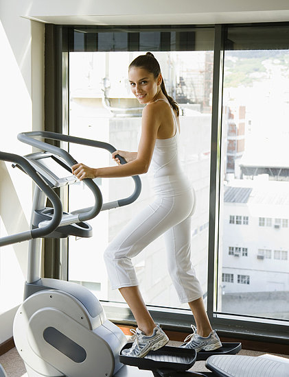 First Elliptical Exercise Machine