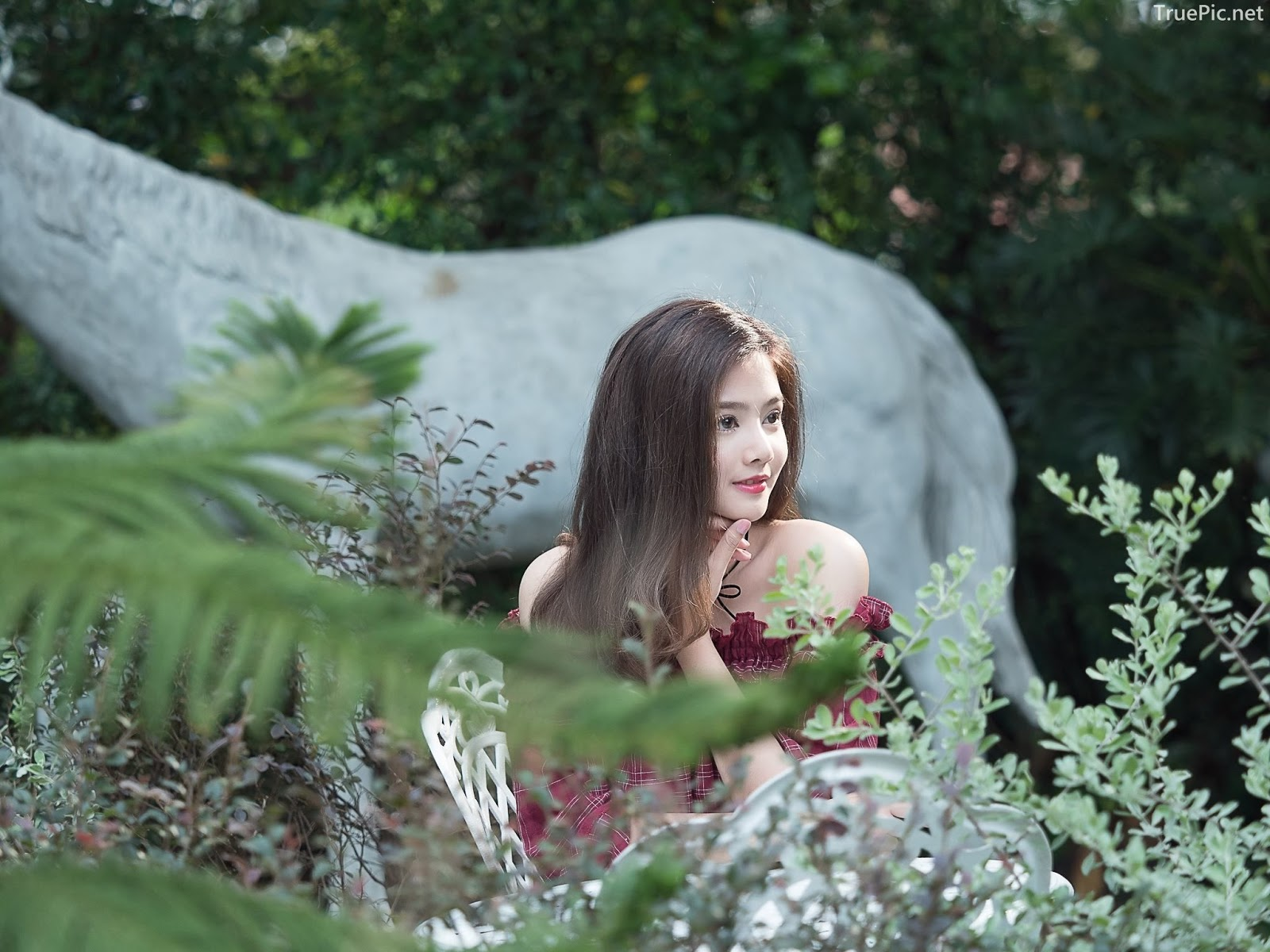 Thailand pretty girl Aintoaon Nantawong – The most beautiful flower in the garden - Picture 3