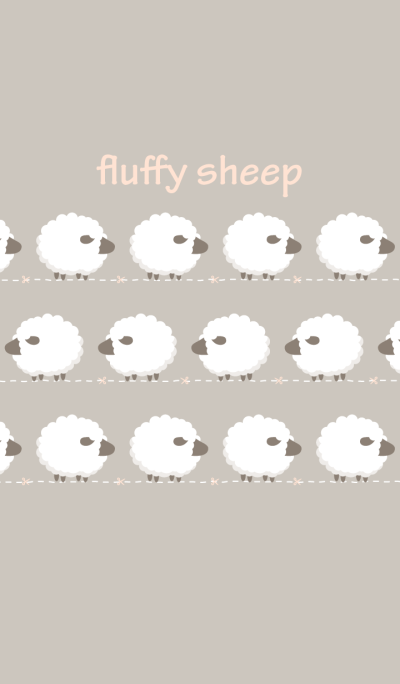 Counting fluffy sheeps in dream