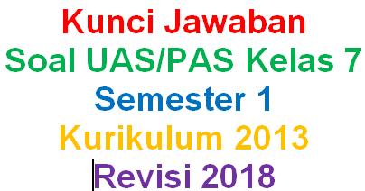 Kunci Jawaban Soal Bahasa Indonesia Kelas 7 Semester 1 Kurikulum 2013 Revisi 2018 Mariyadi Com