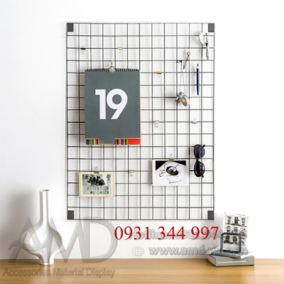 Khung lưới treo hàng | Móc lưới treo hàng, phụ kiện điện thoại, thời trang - 223612