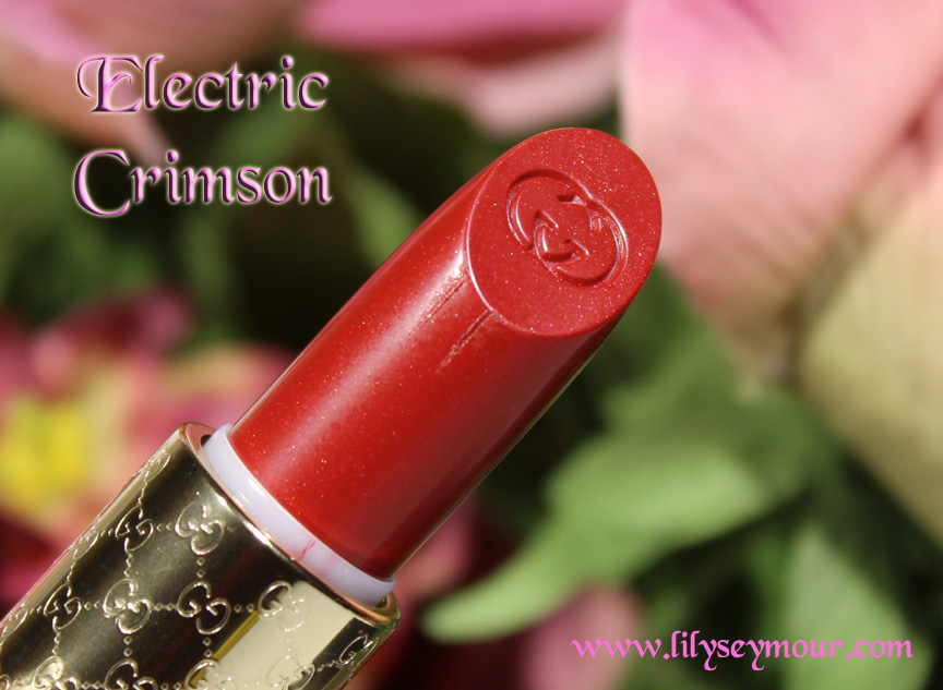 Gucci Electric Crimson Lipstick